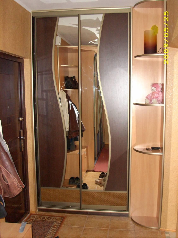 Как вставить зеркало в шкаф купе